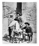 Spain Cowboys, C1875 Fleece Blanket