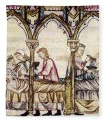 Spain: Medieval Hospital Fleece Blanket