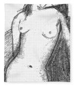 Spanish Beauty Fleece Blanket