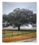 Spanish Oak IIi Fleece Blanket