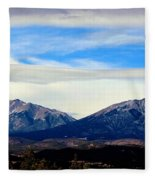 Spanish Peaks Magnificence Fleece Blanket