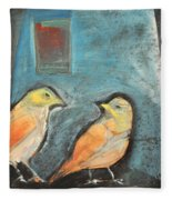 Sparrows Fleece Blanket