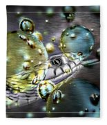 Speak With Forked Tongue - Featured In Nature Photography And Wildlife Groups Fleece Blanket