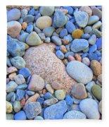 Speckled Stones Fleece Blanket