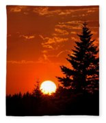 Spectacular Sunset IIl Fleece Blanket