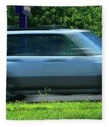 Speeding Gas Prices Fleece Blanket