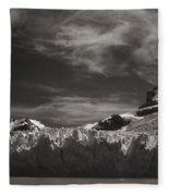 Spegazzini Glacier Argentina Fleece Blanket