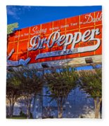 Spend Some Time In Dublin Texas With Dr Pepper Fleece Blanket