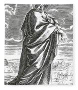 Speusippus, Ancient Greek Philosopher Fleece Blanket