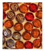 Spheres Of Beads Fleece Blanket