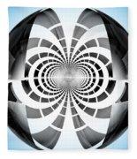Spheroid Fleece Blanket