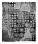Spheroid II Fleece Blanket