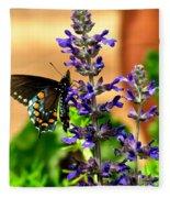 Spicebush Swallowtail Fleece Blanket