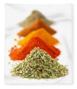 Spices Fleece Blanket