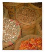Spices From The East Fleece Blanket