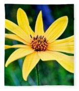 Spider Flower Fleece Blanket