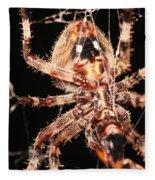 Spider - Hairy Fleece Blanket