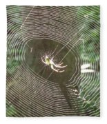 Spider Light Fleece Blanket