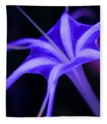 Spider Lilly  Fleece Blanket