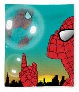 Spiderman 4 Fleece Blanket
