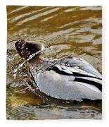 Spin Dry Duck Fleece Blanket