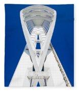 Spinnaker Tower Portsmouth Uk Fleece Blanket