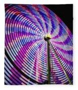 Spinning Disk Fleece Blanket