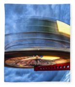Spinning Up The Universe Fleece Blanket