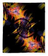 Spiral Of Burning Desires Fleece Blanket
