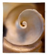 Spiral Shell Fleece Blanket