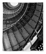 Spiral Steps Fleece Blanket