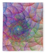 Spirale Fleece Blanket