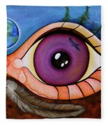 Spirit Eye Fleece Blanket
