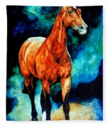 Spirit Horse Fleece Blanket