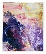 Spirit Of Life - Abstract 1 Fleece Blanket