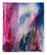 Spirit Of Life - Abstract 2 Fleece Blanket