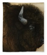 Spirit Of The Plains  Fleece Blanket