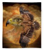 Spirit Of The Wind Fleece Blanket