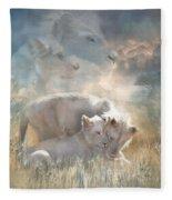 Spirits Of Innocence Fleece Blanket
