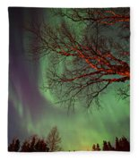 Spirits Of The Night    Fleece Blanket