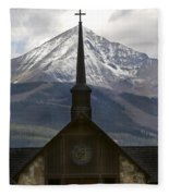 Spiritual Skies Fleece Blanket