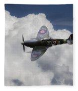 Spitfire Mk Ixb  Fleece Blanket