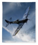 Spitfire Pass Fleece Blanket