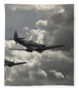 Spitfire Wingman Fleece Blanket