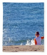 Splash Conductor Fleece Blanket