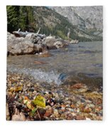 Splash Lake Jenny Fleece Blanket