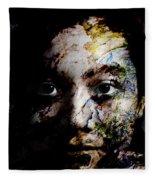 Splash Of Humanity Fleece Blanket