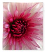 Splash Of Pink Fleece Blanket
