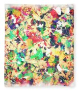 Splashing Paints Fleece Blanket