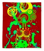 Splattered Series 10 Fleece Blanket
